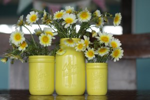 yellow-mason-jars