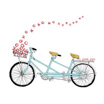 tandem-bike-drawing